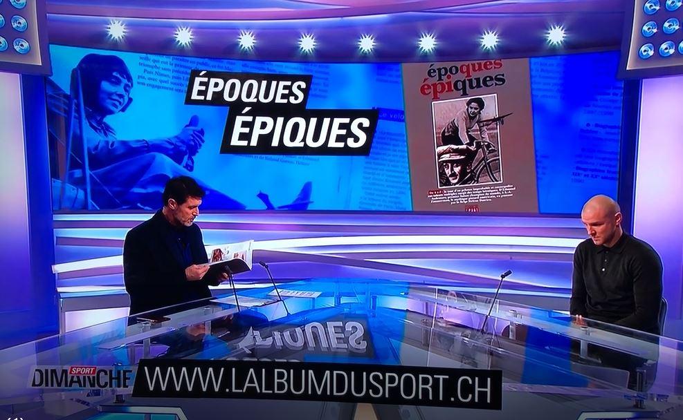 « Epoques épiques » s'offre un plateau télé. RTS Sport dimanche, 22 décembre 2019